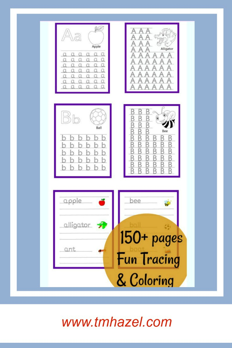 How To Trace Letters With Letter Tracing Workbook For Kids