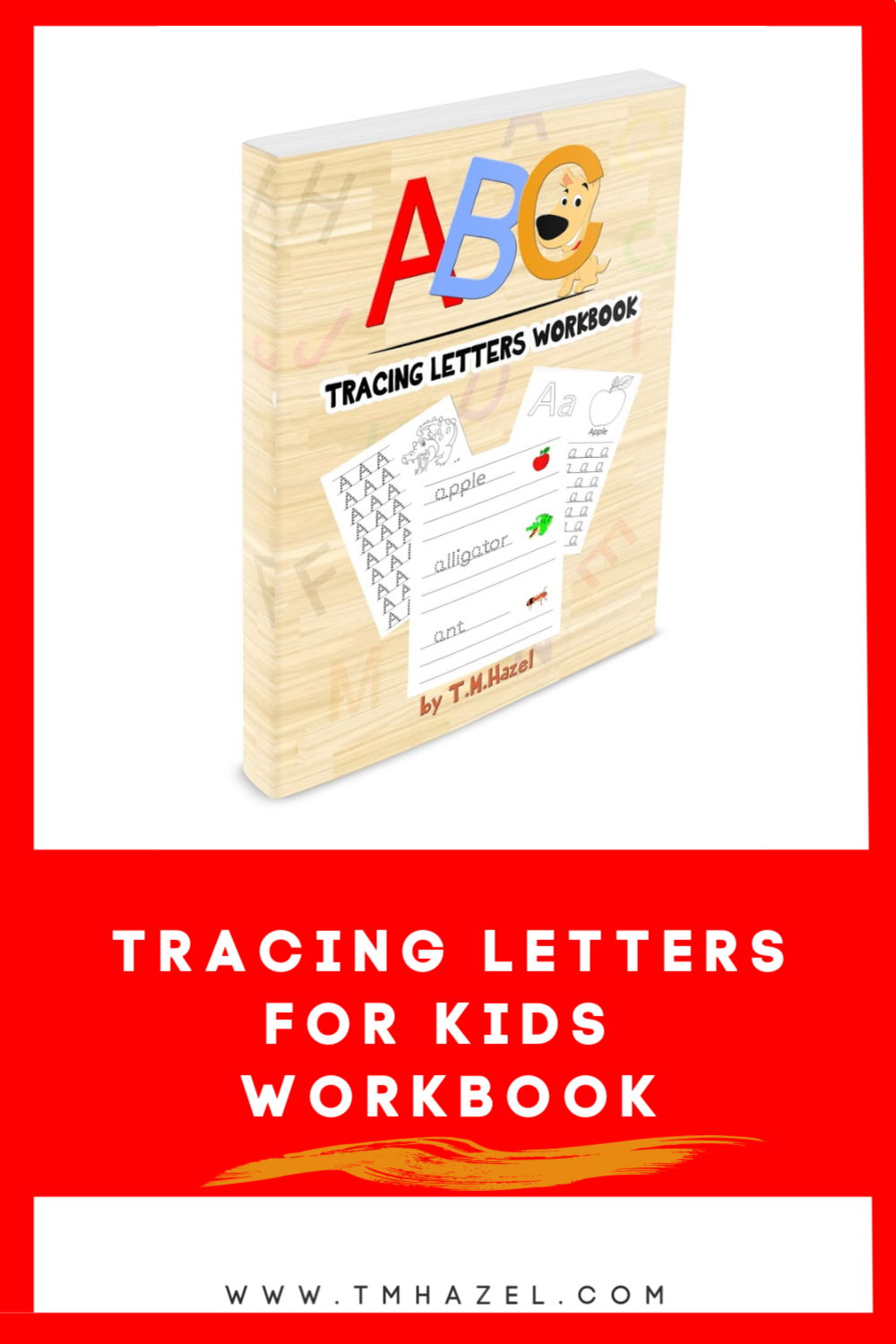 tracing letters workbook
