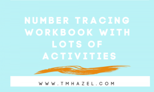 HOW TO LEARN NUMBERS WITH TRACING WORKBOOK