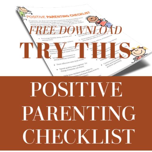 positive parentingchecklist