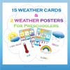 weather flashcards and posters