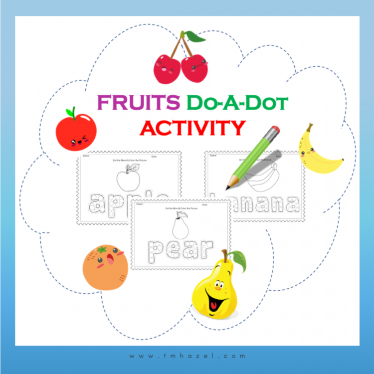 FRUITS DO-A-DOT ACTIVITY