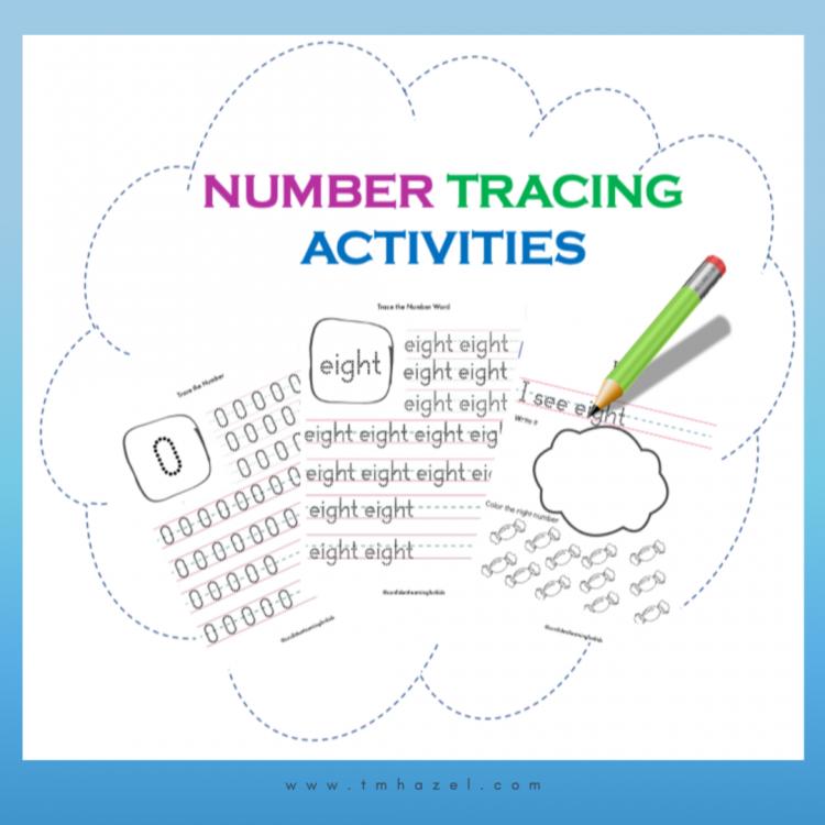 NUMBERS TRACING ACTIVITIES