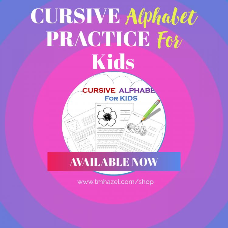 CURSIVE ALPHABET PRACTICE