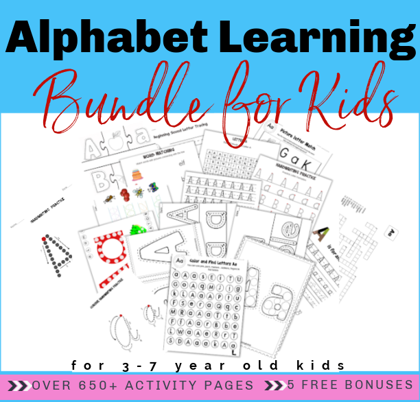 The Ultimate Alphabet Learning Bundle